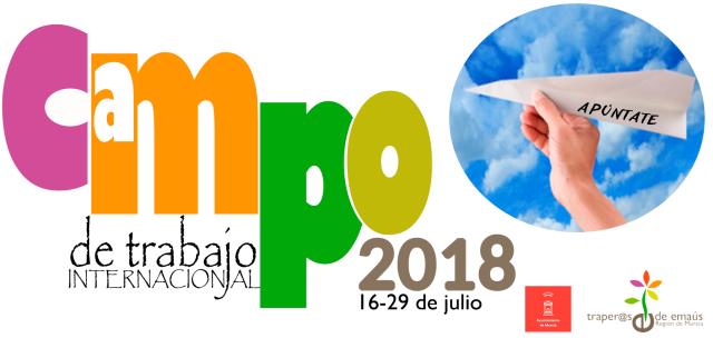 Campo de Trabajo 2018 Traperos Emaús Murcia
