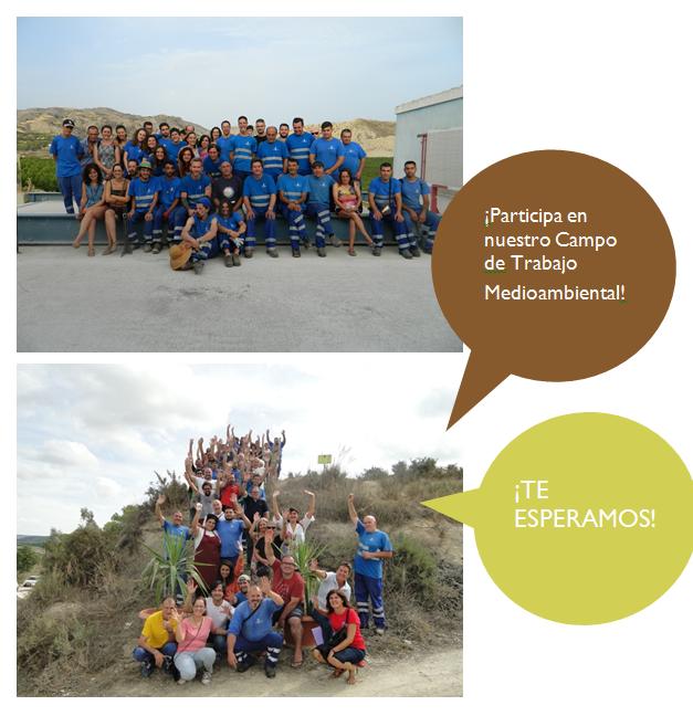 Campo de Trabajo 2018 Traperos Emaus Murcia. Participa