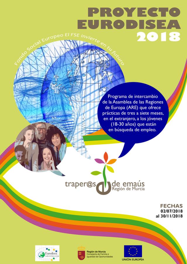 Proyecto Eurodisea 2018 Traperos Emaus Murcia